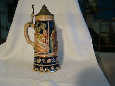 German Beer Stein with built in Music Box