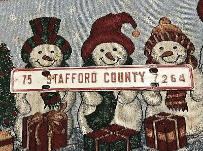 Old Stafford County Tags