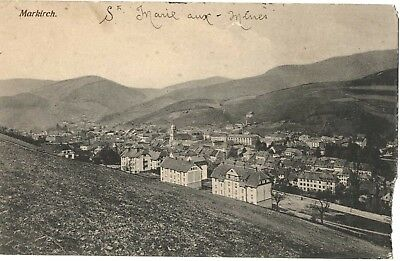 Carte postale ancienne cp918 Markirch Ste-Marie aux Mines 1918