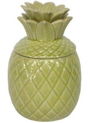 Vintage Retro Style Bar Ornament Decorative Ceramic Yellow Pineapple