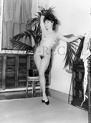 Vintage 50's Nude Model Photo 4x6 Print From Original Negative N-21