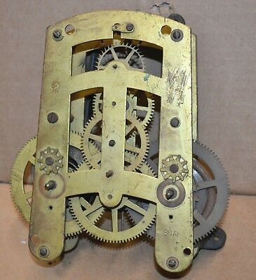 Antique Seth Thomas 15 Day or 30 Day Time Only 86AK Clock Movement for Parts