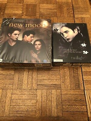 Twilight the Movie board game and Jigsaw puzzle
