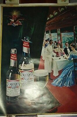 poster Anheuser Budweiser Poster 26 x 36 inches