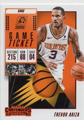 18-19 Panini Contenders Game Ticket Red Trevor Ariza Suns