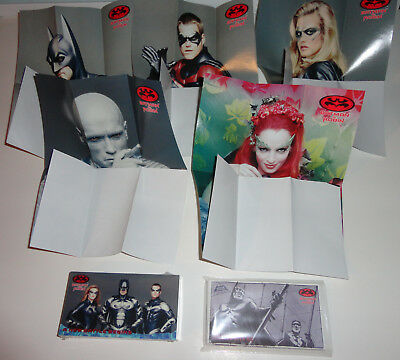 Batman And Robin Movie 1997 Fleer/skybox Base Card Storyboard & Posters Set Dc
