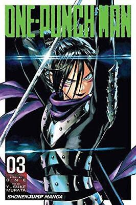 One-Punch Man Volume 3, Very Good Condition Book, ONE, ISBN 9781421564616