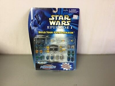 New Star Wars Episode I Micro Machines Build Your Own Podracer #532R