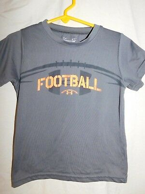 Under Armour Boy's Gray 'football' Top/size 3T/pre-Owned