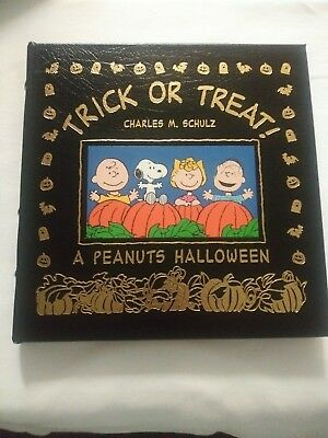 Trick or Treat : A Peanuts Halloween by Charles Schulz Easton Press