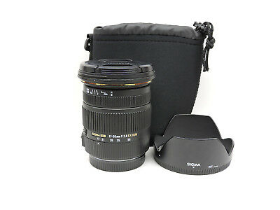 Sigma EX 17-50mm f/2.8 OS HSM DC Lens For Canon