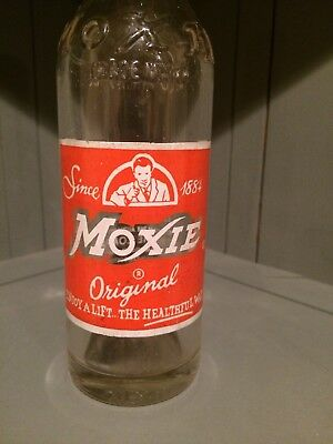Vintage Moxie 7oz Soda Bottle Leighton, PA