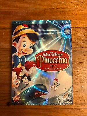 Disney's Pinocchio 70th Anniversary Platinum Edition DVD
