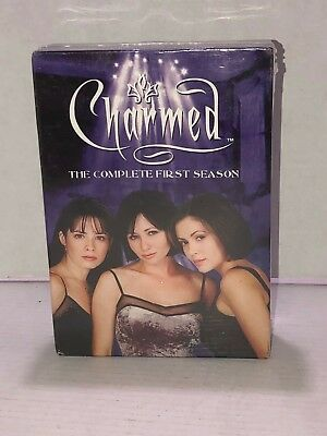 NEW & SEALED Charmed The Complete First Season DVD 6-Disc Set Season 1 1st