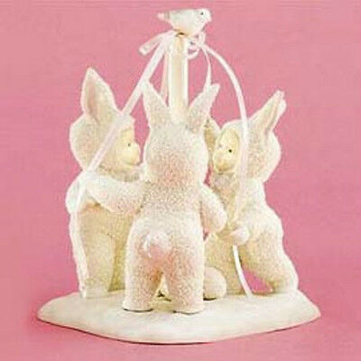 ************* Dept 56 Easter Snowbunnies Tra-La-La - 50% Off - Nib *************