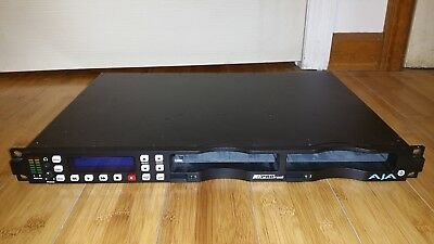 AJA Ki Pro Rack Digital File Recorder with Apple ProRes 422 1RU HD video Record