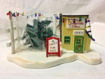 "Department 56 - Snow Village Series - ""Tree Lot"" - 55138-1"
