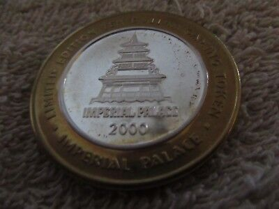 Imperial Palace  $10. Silver Strike .999 Fine Silver Limited  2000 Mt.g