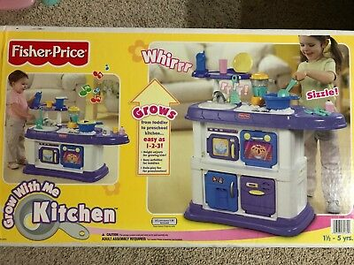 Fisher Price Kids Play Pretend U0027Grow With Meu0027 Kitchen With Some Accessories