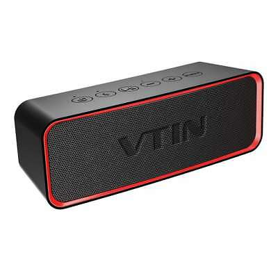 VTIN Portable Bluetooth Speaker Wireless Stereo Super Bass Sound Audio Subwoofer