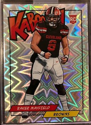 2018 Kaboom BAKER MAYFIELD RC SSP Cleveland Browns Panini Rewards