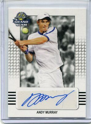 2018 Leaf Signature Series Andy Murray Base Auto Autograph