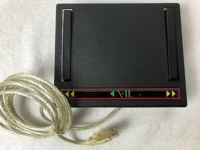 Career Step Medical Transcription USB Foot Pedal VP1-2006-19 N13808 vPedal Vid