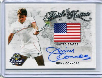 2018 Leaf Signature Series Jimmy Connors Pride of the Nation Auto Autograph