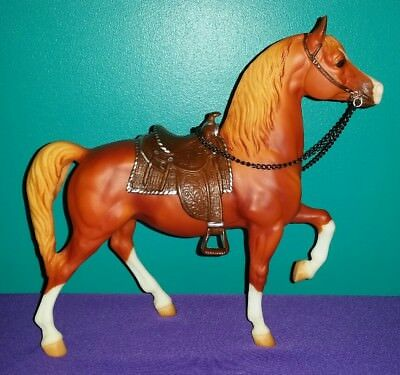 "USED Breyer Traditional Model #1111 ""Gene Autry's Champion"" Western Prancer"