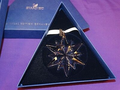Bnib Beautiful Swarovski Crystal 2017 Annual Snowflake Ornament 5257589