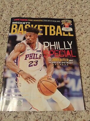 Beckett Basketball Price Guide Magazine, January 2019 (Jimmy Butler) Light Used