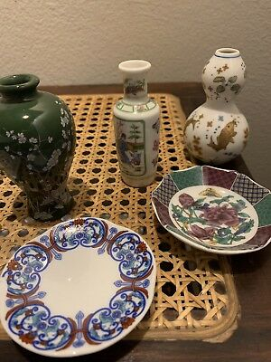 JAPANESE MINIATURE PORCELAIN  Lot Of 7