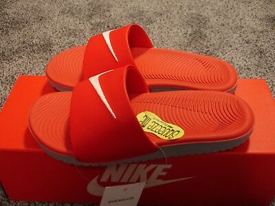 bf1bb2bb921b2 Nike Kawa Slide Youth Size 2 University Red NEW