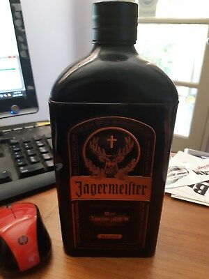 jagermeister METAL SKIN for bottle can also be used a stash bottle