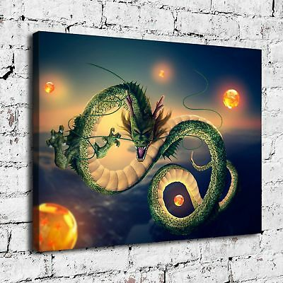 """12""""x16"""" Dragon Ball HD Canvas prints Painting Home Decor Picture Room Wall art"""