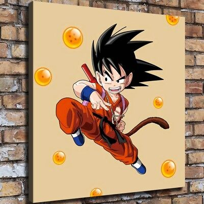 """12""""x14"""" Dragon Ball HD Canvas prints Painting Home Decor Picture Room Wall art"""