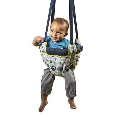 Doorway Jumper Baby Owl Bouncer Swing Jump Up Seat Exercise Toddler Easy Pack