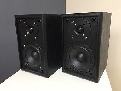 studio speakers pair with 2m cable 90w power