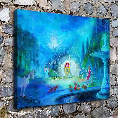 """12""""x16"""" Disney HD Canvas prints Painting Home Decor Picture Room Wall Poster"""
