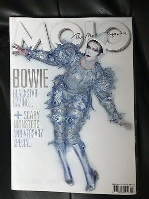 MOJO Magazine : January 2016 Issue #266 -  Bowie Collector Cover Edition