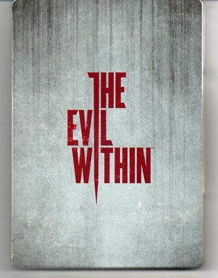 The Evil Within  STEELBOOK case 'New' (NO Game)  *See Description*