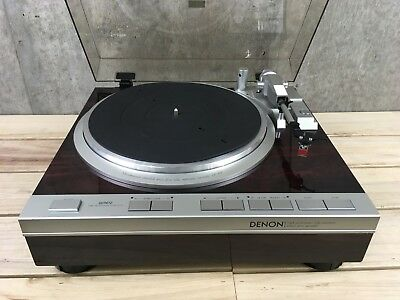 Denon DP-47F Turntable in Excellent Condition From Japan #8121539533