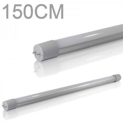 15X LED Tube lumiere Tube fluorescent T8 G13 150cm 4000k 3200lm blanc froid 24W