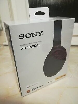 WH-1000XM3 Sony Noise Canceling Stereo Bluetooth Headset - BRAND NEW and  SEALED 28ca1803bf39