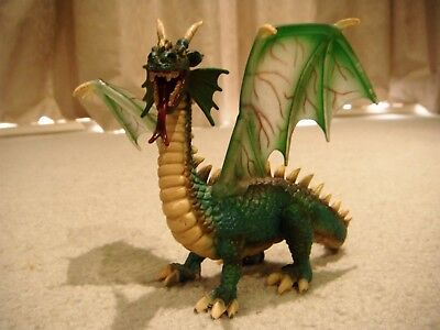Schleich Green Dragon