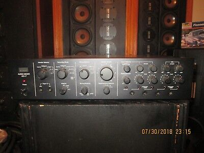 Sansui AX-7 Audio Mixer Multi Volt !!! AS-IS Parts or repair!