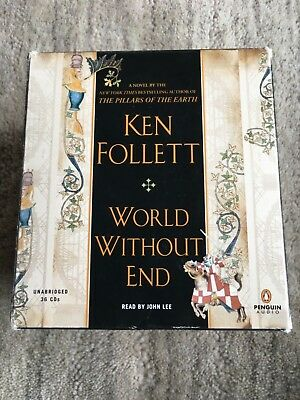 World Without End by Ken Follett (2007, CD)