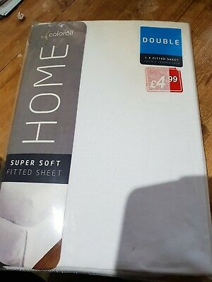 Supersoft Fitted Double Sheet