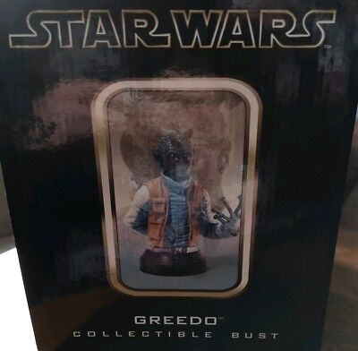 Gentle Giant Star Wars Limited Edition Greedo Bust Mint condition.