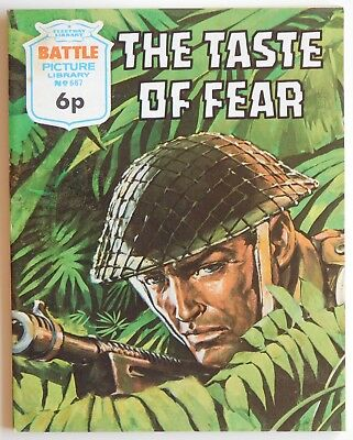BATTLE PICTURE LIBRARY #667 - 1972 (War, Commando)